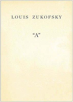 A By Zukofsky, Louis/ Ahearn, Barry (INT)